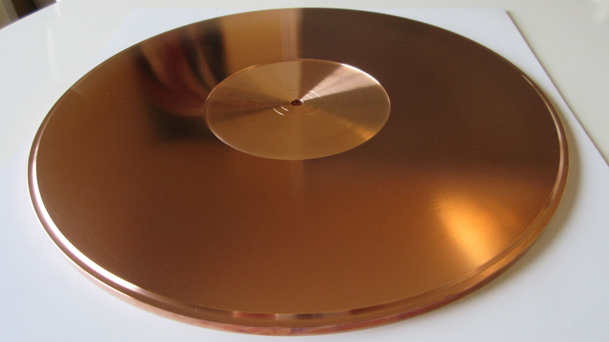 Takai Lab Final Audio Research VM-7 chromium copper TT mat