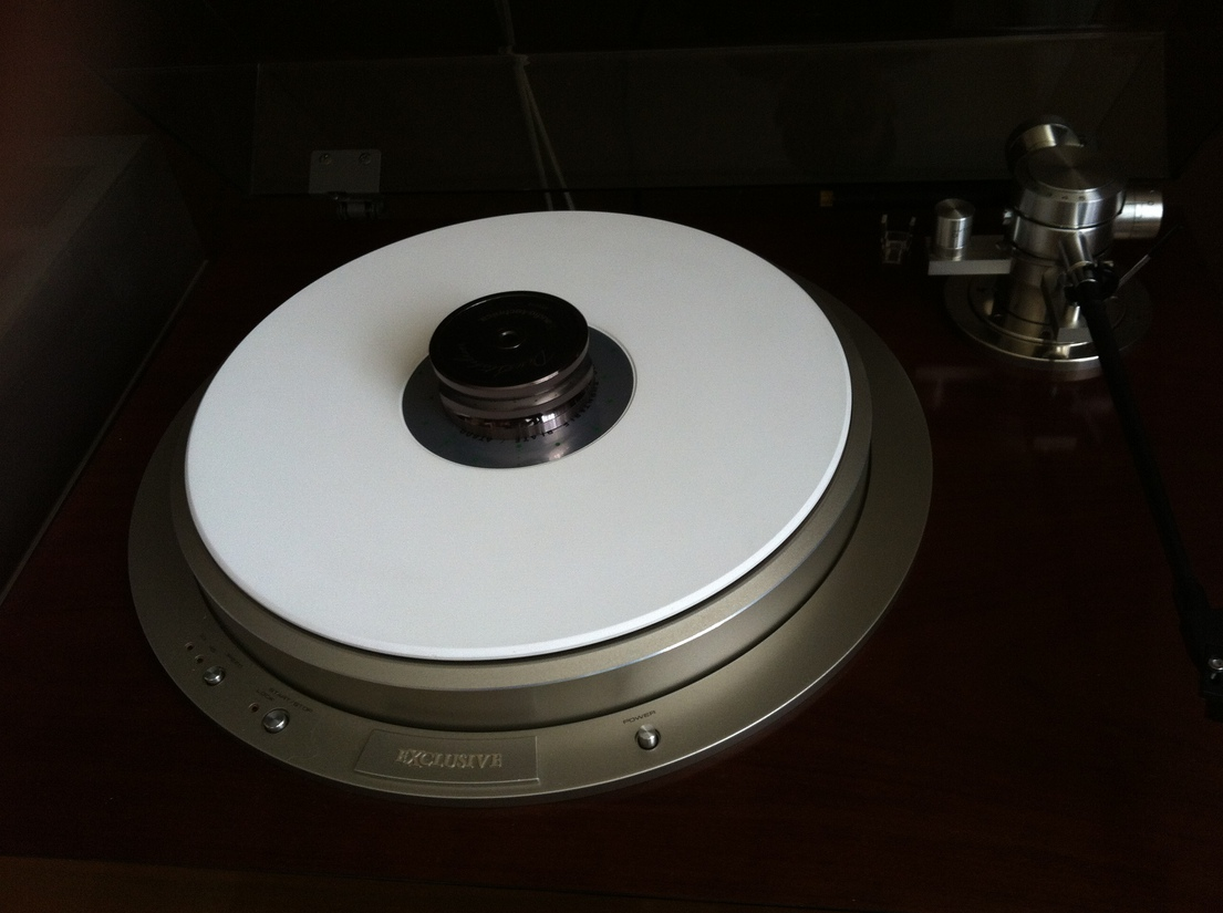 AUDIO-TECHNICA AT-600 CERAMIC TURNTALE PLATE