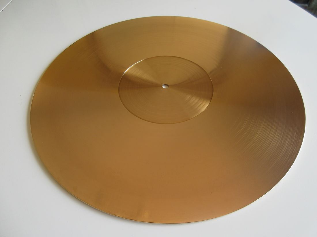 Aid DA-202 Turntable Brass Mat
