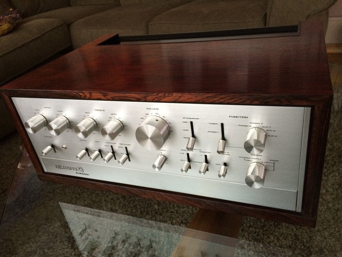 PIONEER EXCLUSIVE C3 CONTROL AMPLIFIER