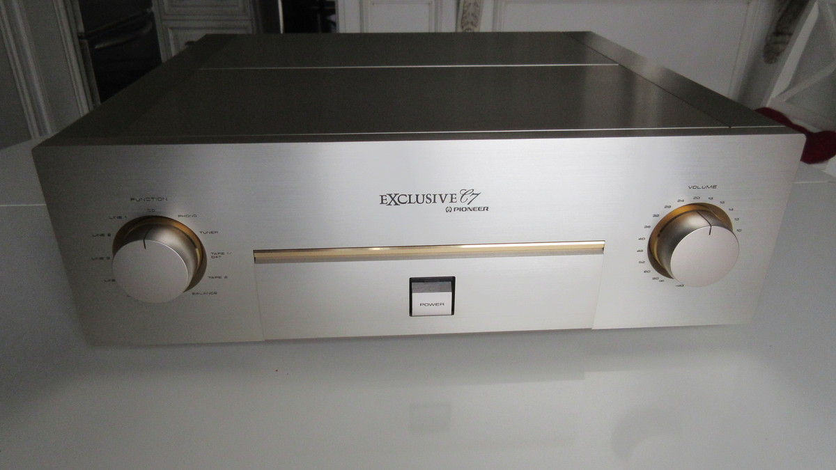 Exclusive C7 Control Amplifier