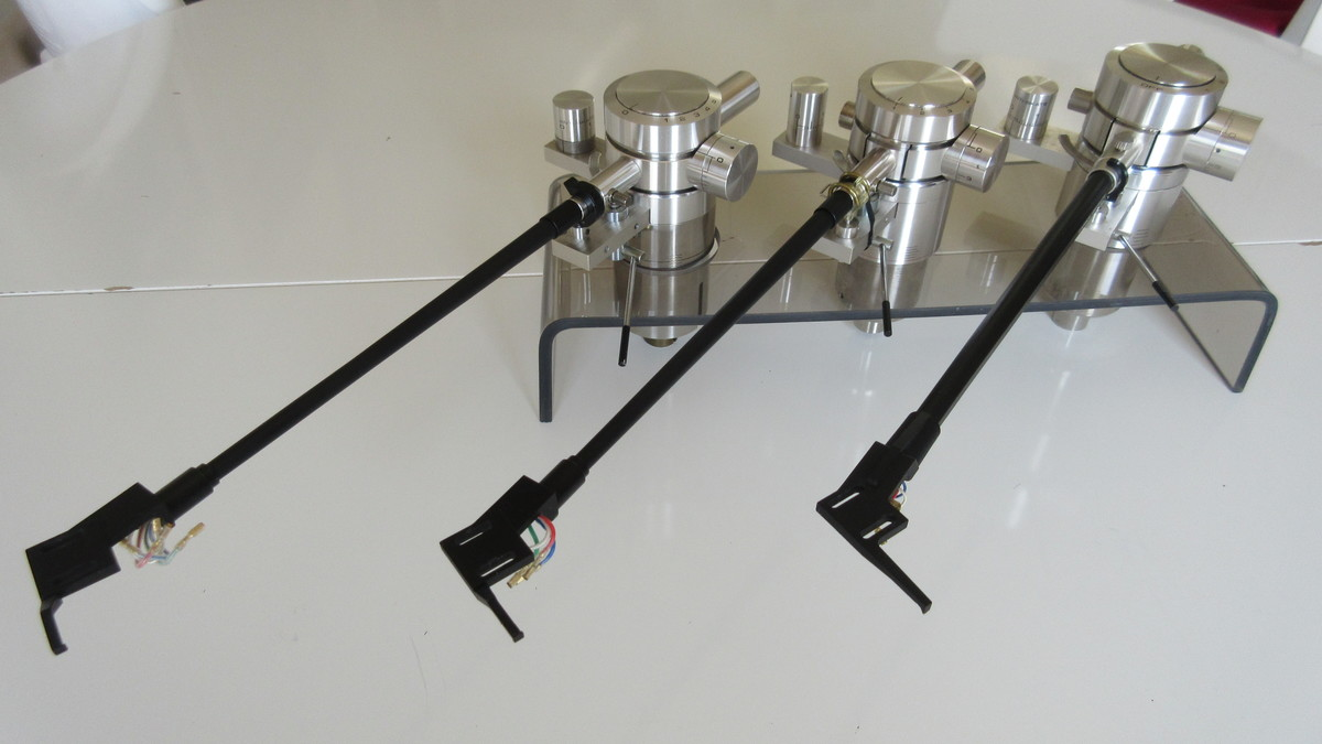PIONEER EXCLUSIVE TONEARMS P10, P3, P3A
