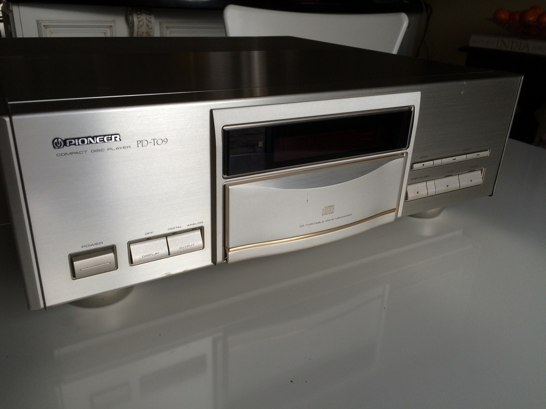 Pioneer PD-T09 CD player