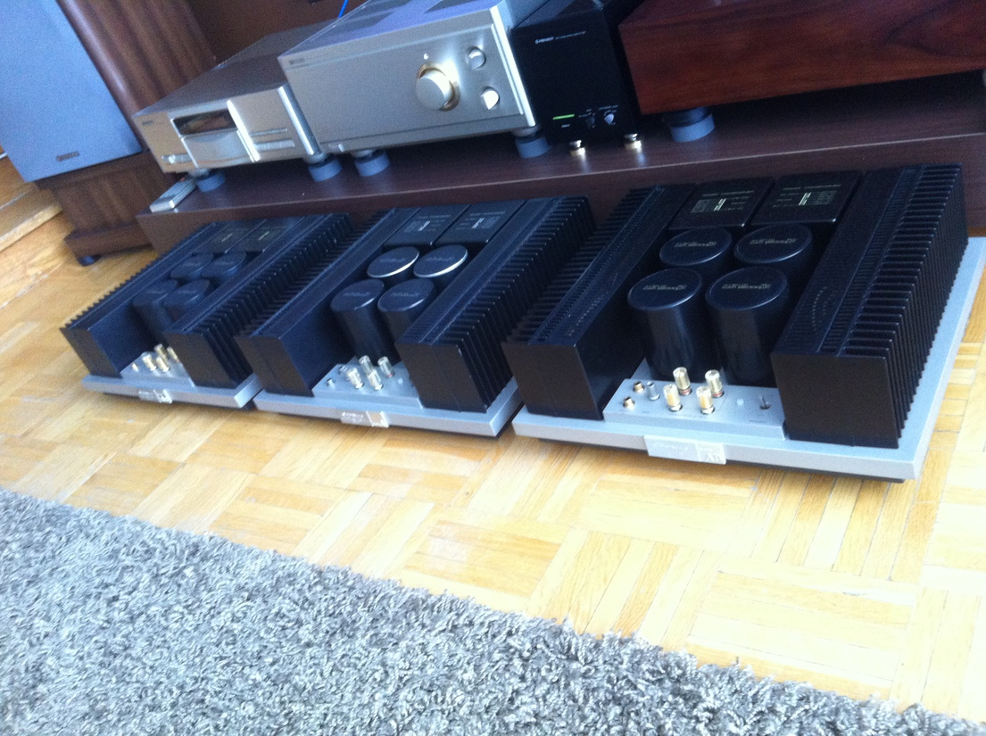 PIONEER M-22 Power Amplifier TRIO