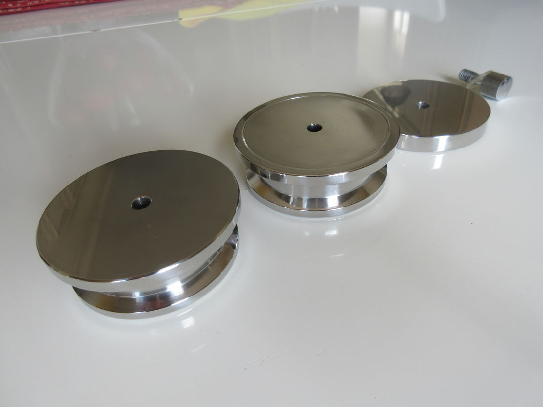 TTM Co.Ltd stainless  steel Record Stabilizer set bottom