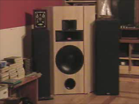 Pair of Klipsh towers and one of my builds. 10 cuft  w/JBL drivers.