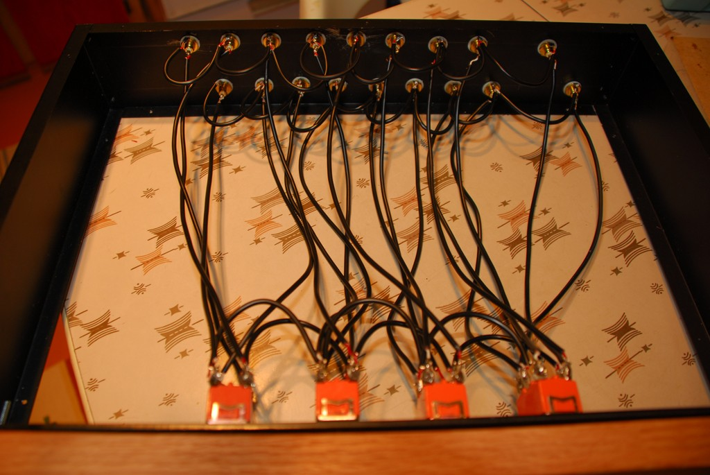 Easy to Wire -  Four 2 Position Switches, Equals 8 Inputs