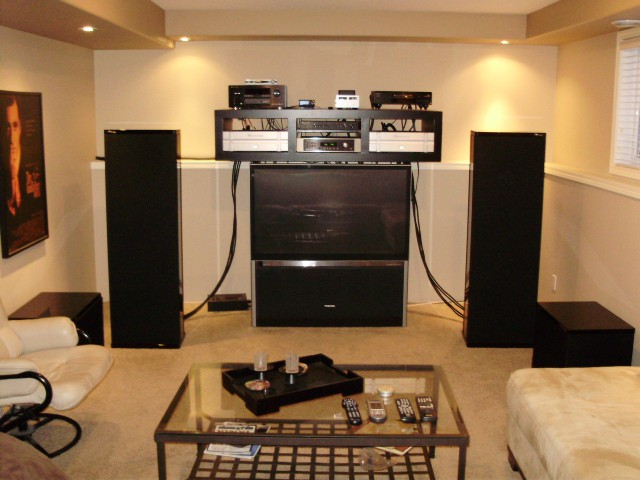 M1si soon to be rears & replaced by Martin Logan Prodigys