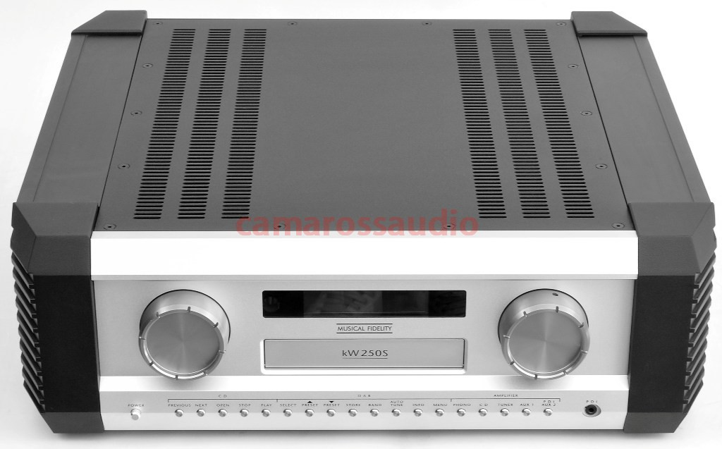 Musical Fidelity KW 250S Ampfier-Dac-Cd Player-DAB Tuner