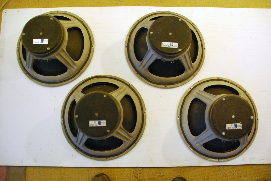 "Sensurround 18"" drivers"