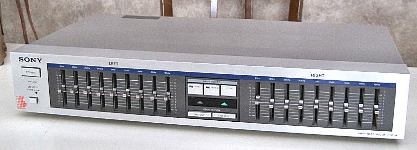 Vintage SONY SEQ-9 Nine Band Stereo Graphic Equalizer Works Great For Sale - Canuck Audio Mart