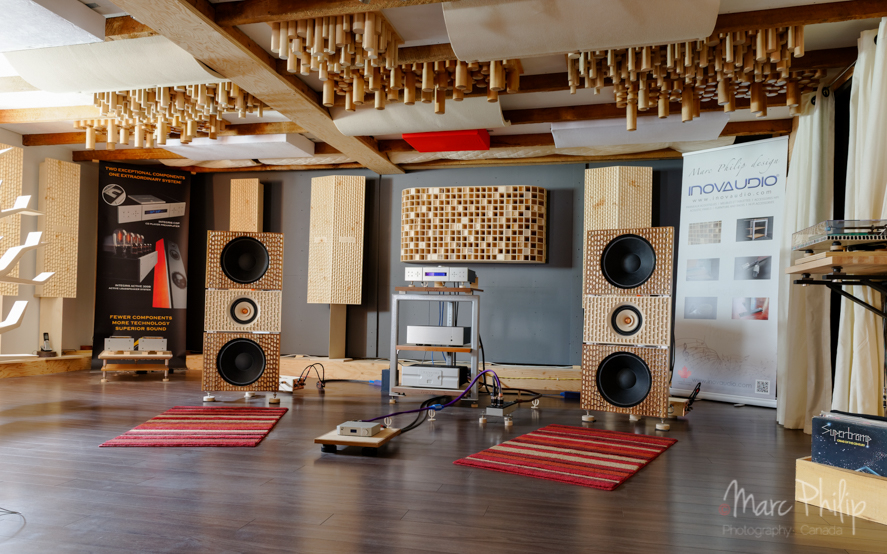 Acoustic  inovaudio listening room