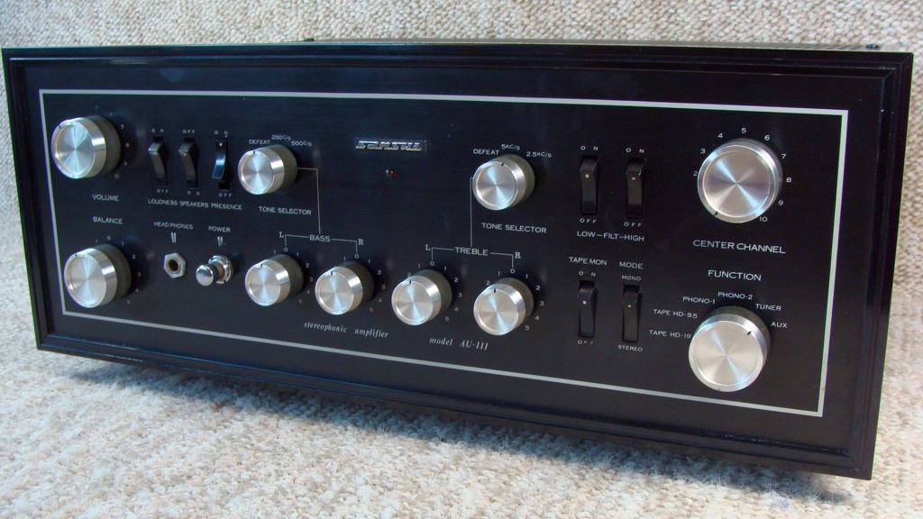 Sansui AU-111 Integrated Tube Amp