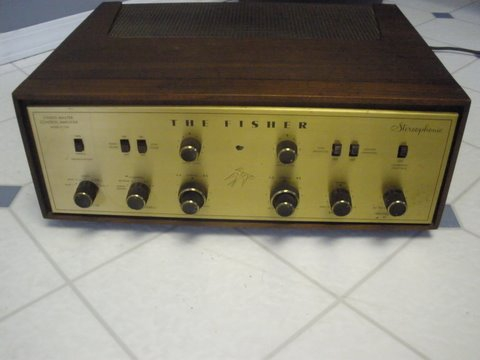 Early Fisher X-100 Integrated Tube Amp