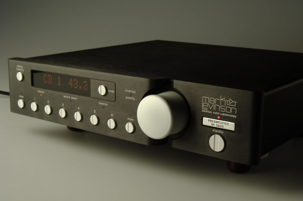 Mark Levinson 380s Preamplifier For Sale Canuck Audio Mart