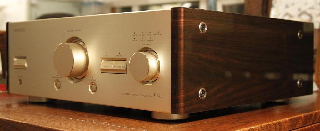 Kenwood L-A1 Integrated Amplifier - Extremely Rare!
