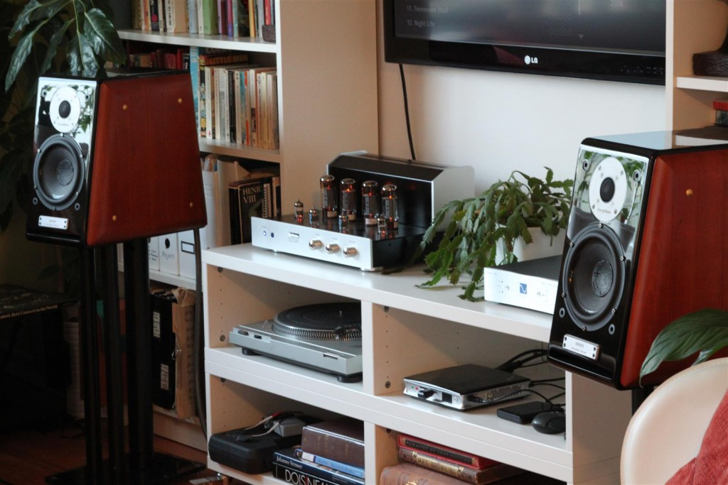 Jolida JD302BRC Integrated Tube Amp + PS Audio DAC + Usher BE-718 Speakers