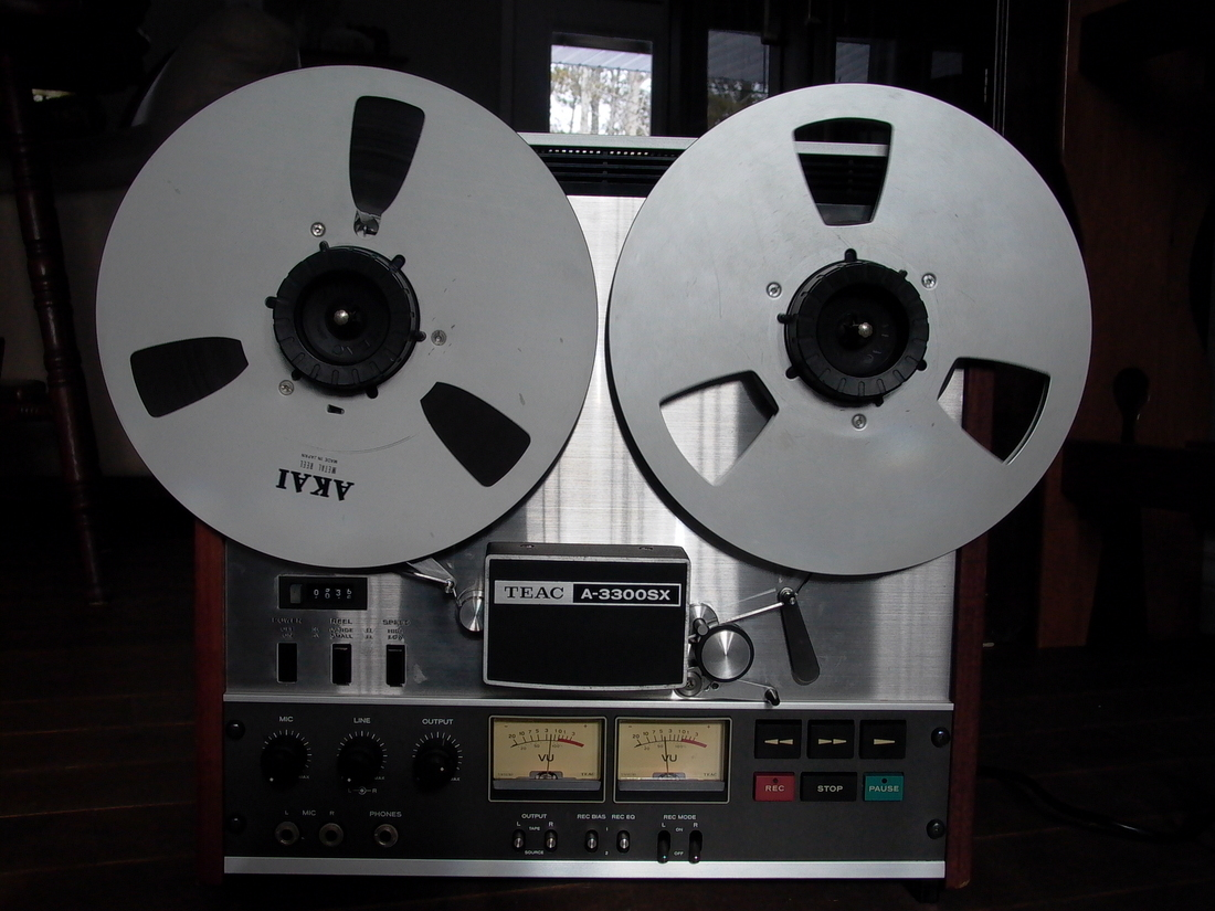 MY FORMER TEAC A-3300SX REEL TO REEL MOTIVATING MUSIC