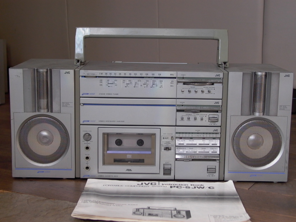 "1981 JVC PC-5 ""THE QUINTET"" THE FIRST & THE BEST"