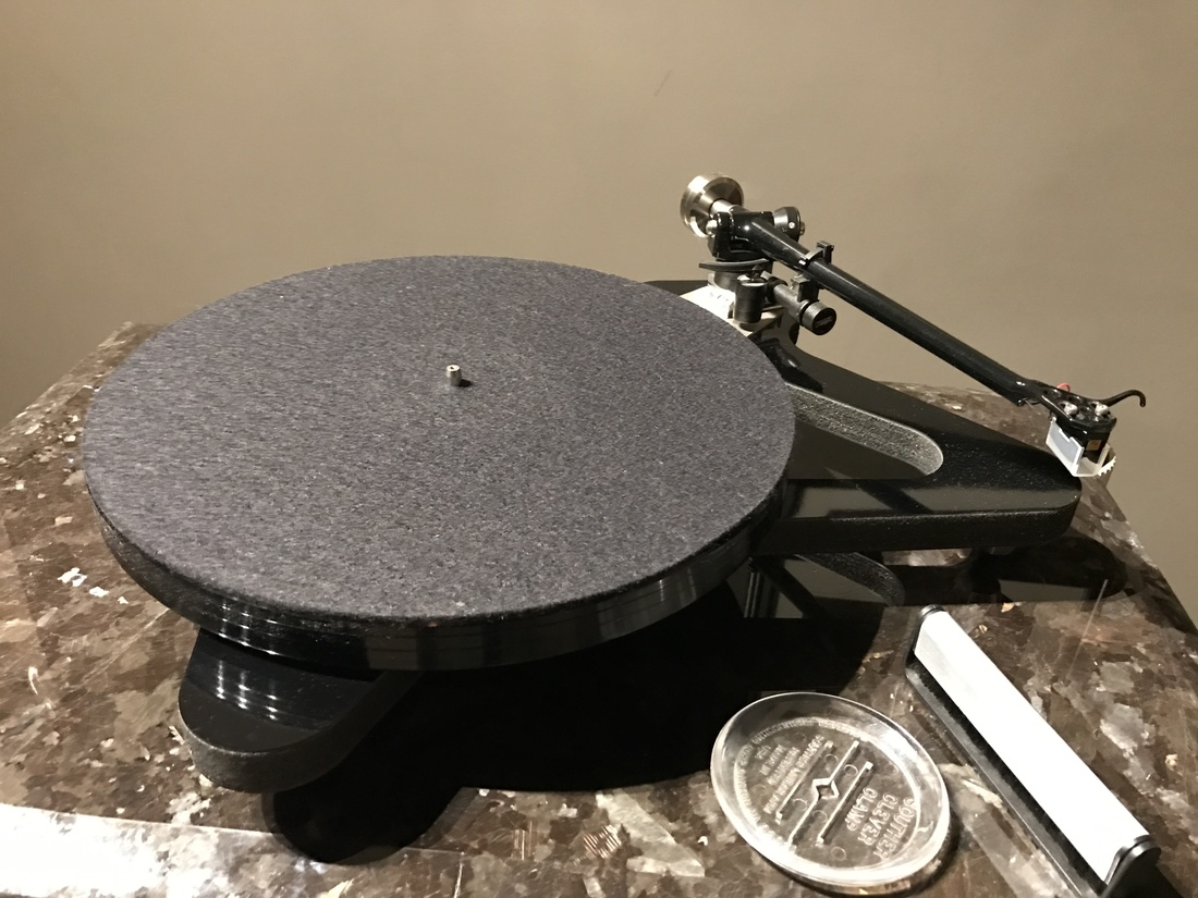 Rega RP8 with Dynavector 20x2 spare cartridge
