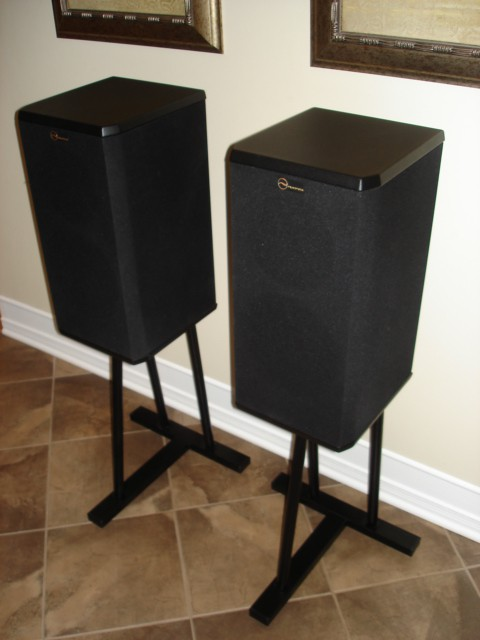 high end nuance star grand 1s speakers with stands for