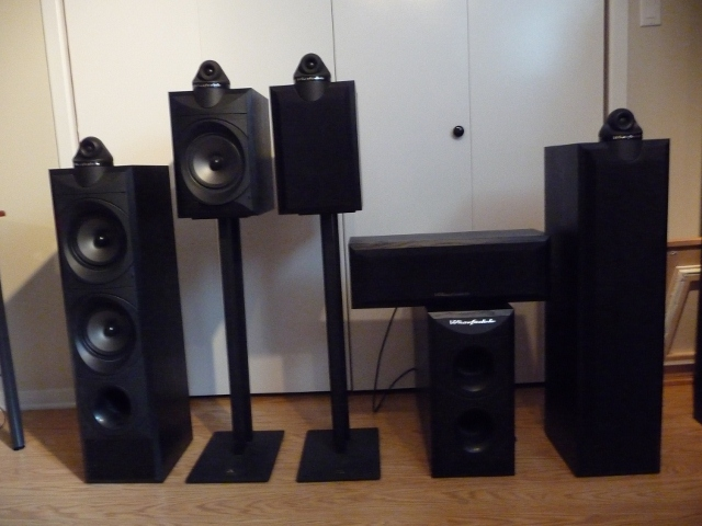 wharfedale modus home theatre 5 1 speakers used for sale canuck audio mart. Black Bedroom Furniture Sets. Home Design Ideas