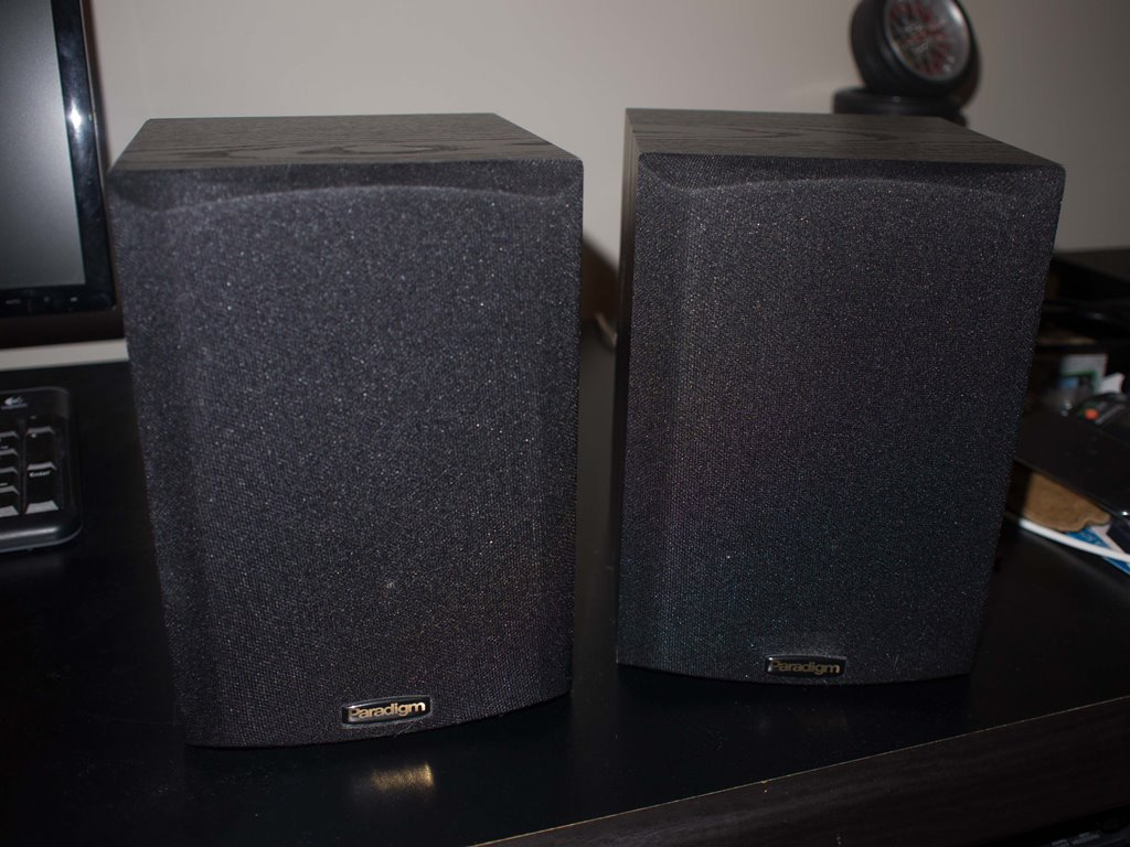 Paradigm Micro V2 Bookshelf Speakers For Sale
