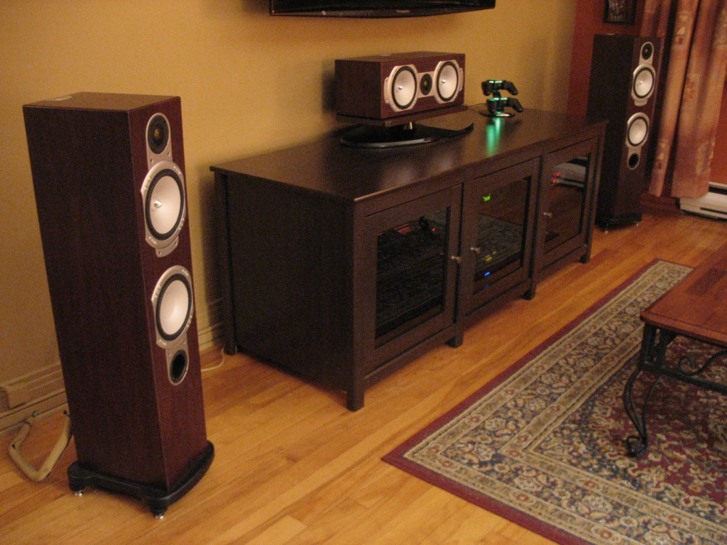 Front Sound Stage: Monitor Audio RS Series