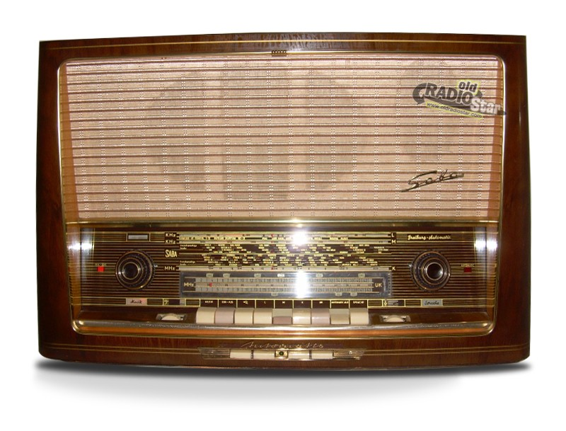 SABA Freiburg 9 Automatic Big German Tube Radio
