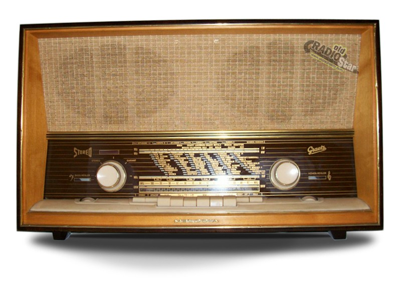 Graetz Melodia 1017 Stereo Antique Radio