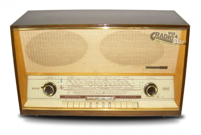 Grundig 5490 Full Stereo German Tube Radio