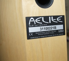 Acoustic Energy Aelite 3