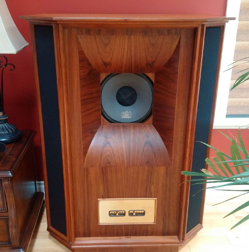 Tannoy Westminister Royals - Just finished Restoring the Woodwork.