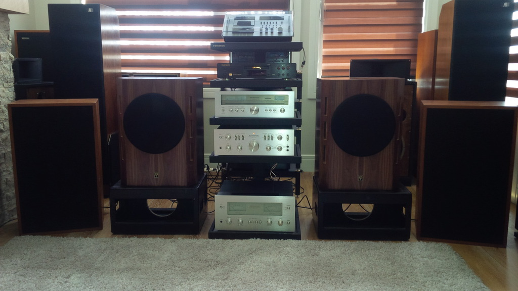 Tannoy Gold's & Royals with Kenwood Supreme'ss