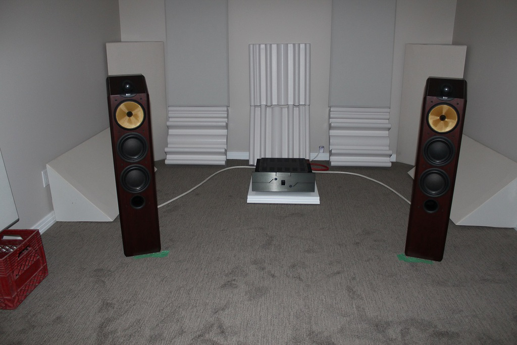 B&W CDM-9NT speakers, BAT VK-200 amplifier