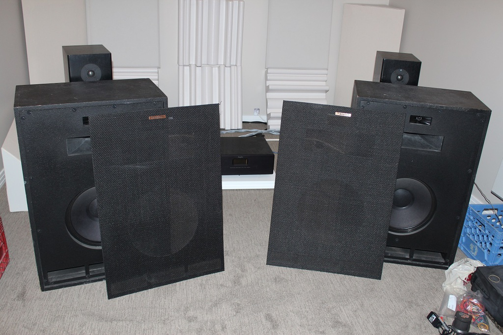 Vintage Klipsch Cornwall Speaker - Rebuilt and upgraded crossovers