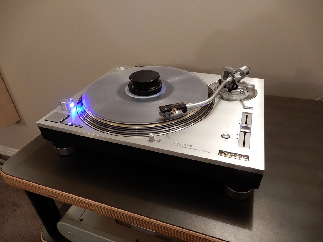 Technics SL-1200GAE - Limited Edition Number 18 of 1200