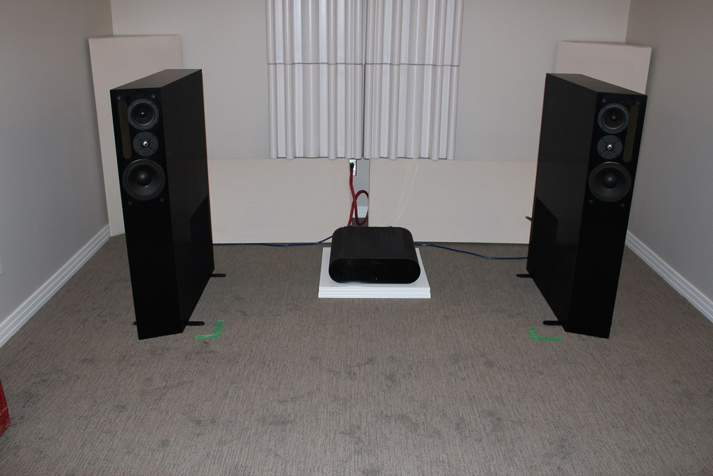 NHT 3.3 - Great speakers that never quite worked right in my room.