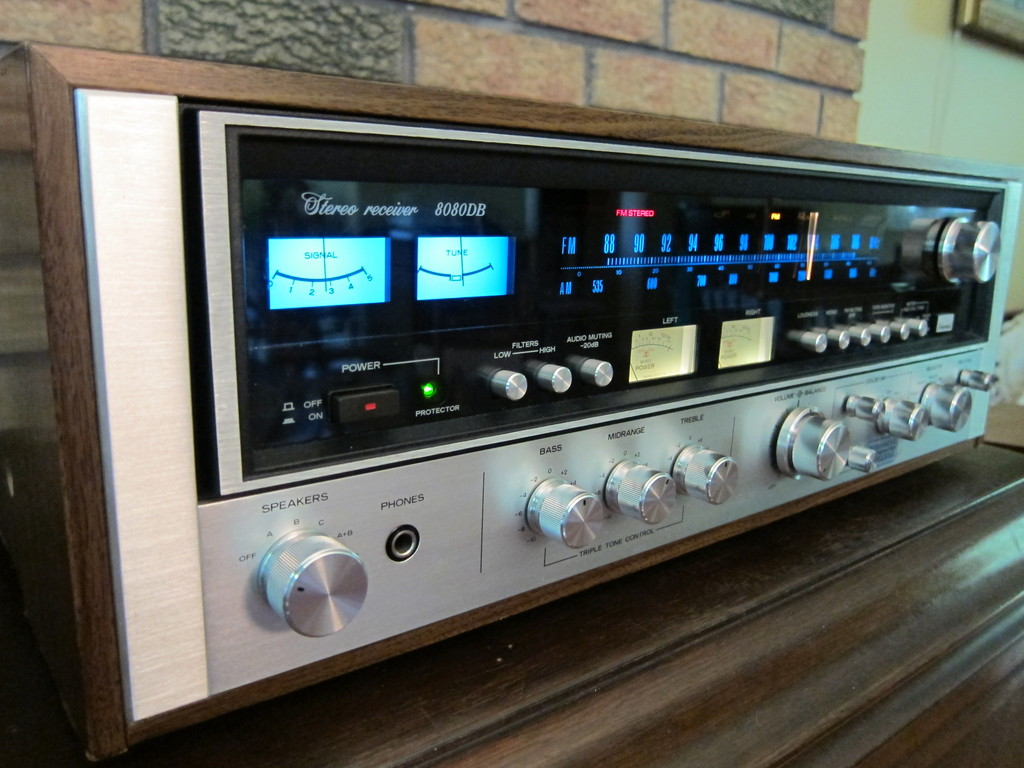 Vintage Sansui 8080db Stereo Receiver For Sale Canuck