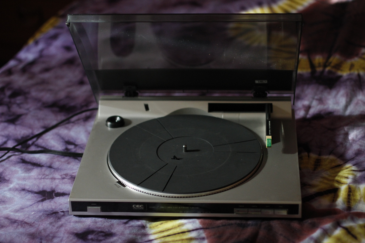 Cec st 630 linear turntable table tournante for sale for Table tournante