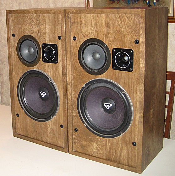 Cerwin vega speakers used