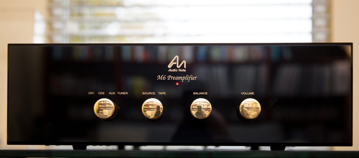 Audio Note M6 Line Preamplifier
