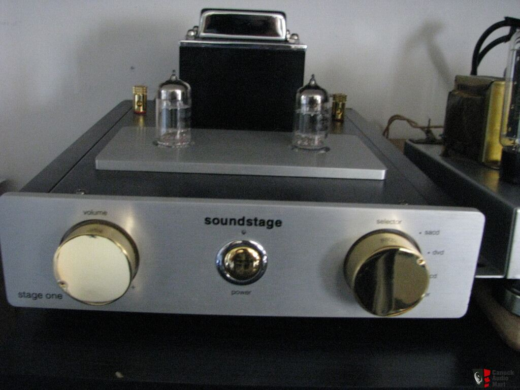 Sound Stage/Stage One Class A Hybrid Tube Amp (PENDING 4 Danny