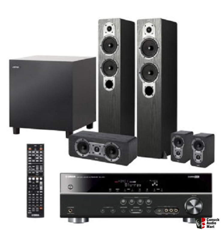 Yamaha jamo home theater system photo 1006526 us audio mart for Yamaha home stereo systems
