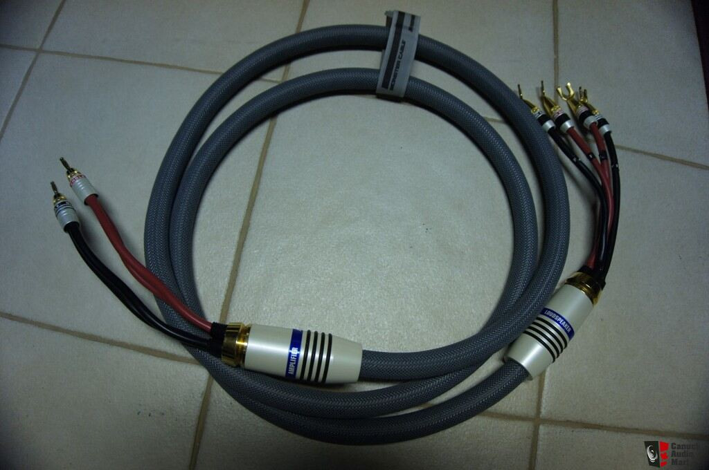 Monster Cable M2.4s B-Wire Speaker Cable, 8 ft. pair Photo #1006743 ...