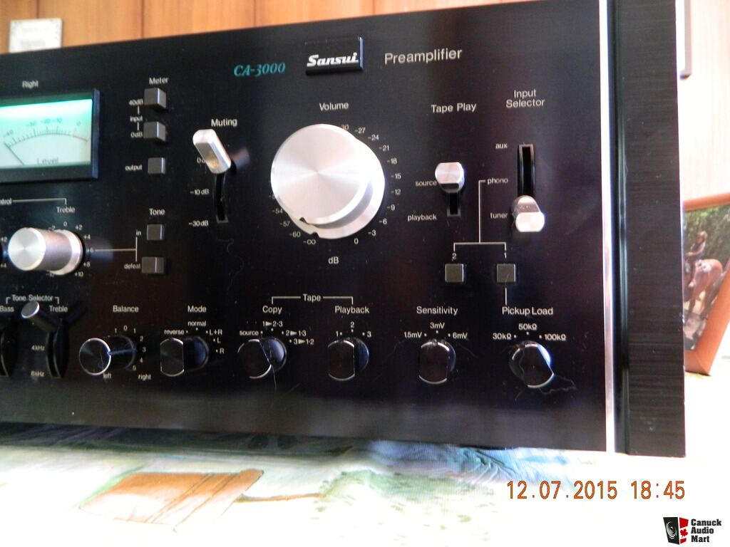 Sansui Ca 3000 Preamp Sold Photo 1008223 Canuck