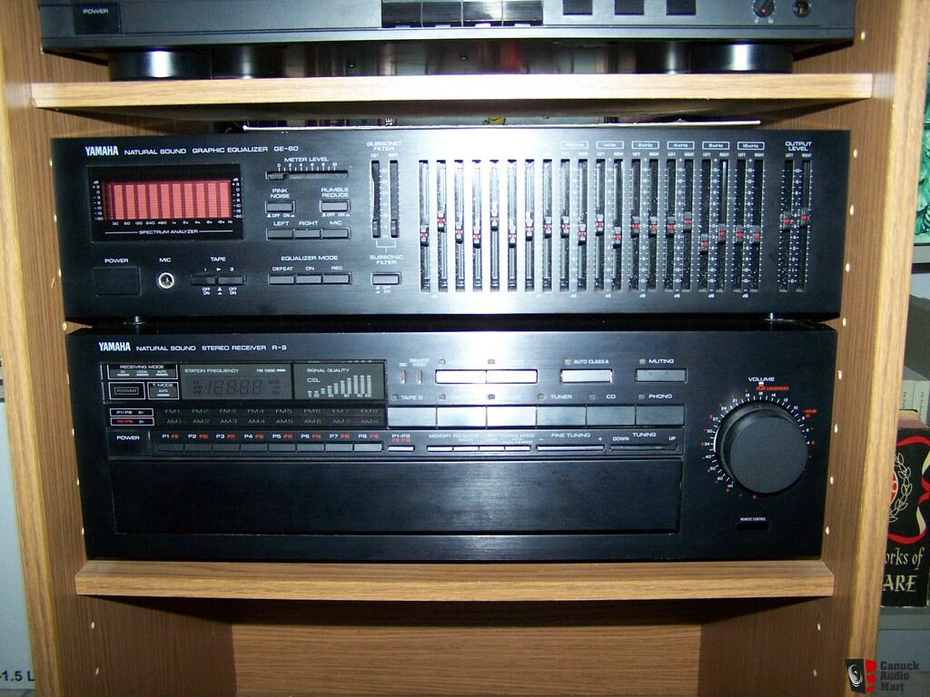 Yamaha vintage stereo system natural sound series for Yamaha sound console