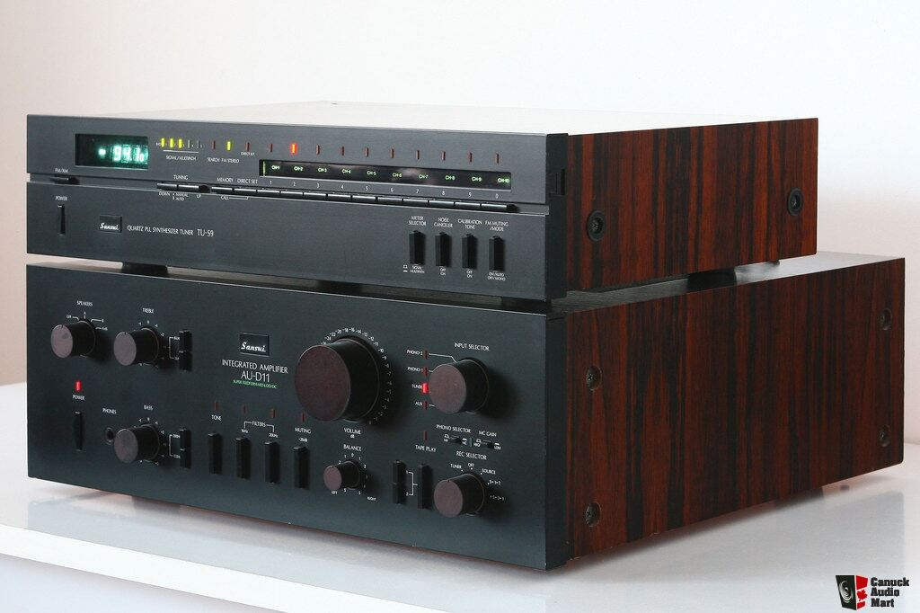 Sansui AU-D11 Integrated Amp with matching TU-S9 Digital Tuner Photo #1012982 - UK Audio Mart