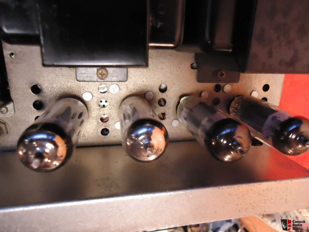 TRIO/Kenwood KW-200G Tube Integrated Amplifier-Works-Contacts ...