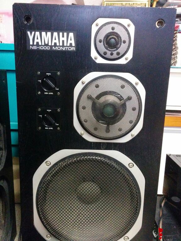 Yamaha NS 1000M + spare cabinets + owners manual + lovan 6 stands